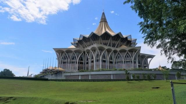 Regionales Regierungsgebäude in Kuching