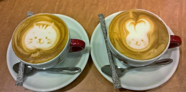 Japan's Süden: Kagoshima, Cappuccino Art