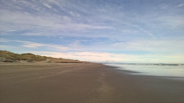 Camper-Überführung (Relocation): Der Strand von Himatangi