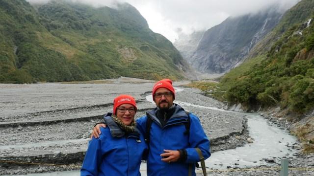 Vor dem Franz-Josef-Gletscher