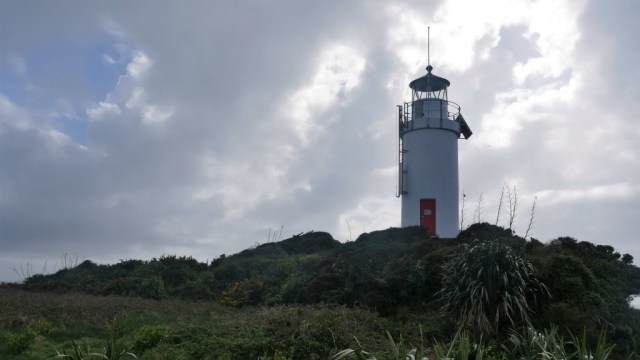 Marlborough Sounds und die nördliche Westküste: Leuchtturm am Cape Foulwind