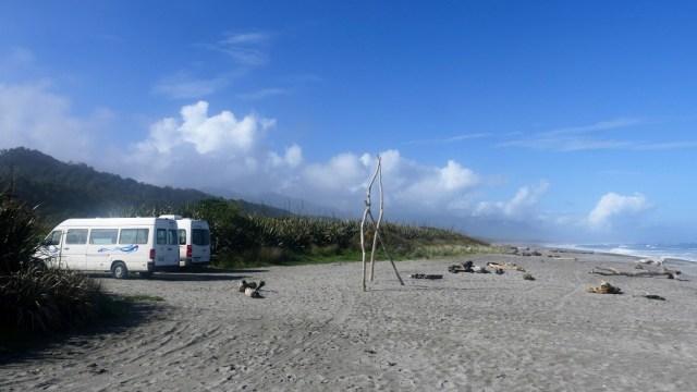 Free Camping an der Westküste