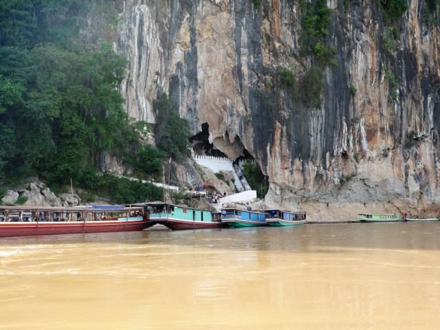 Die große Mekongtour Etappe 1: Pak Ou Höhle bei Luang Prabang