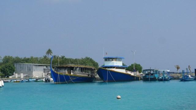 Hafen von Mahibadhoo