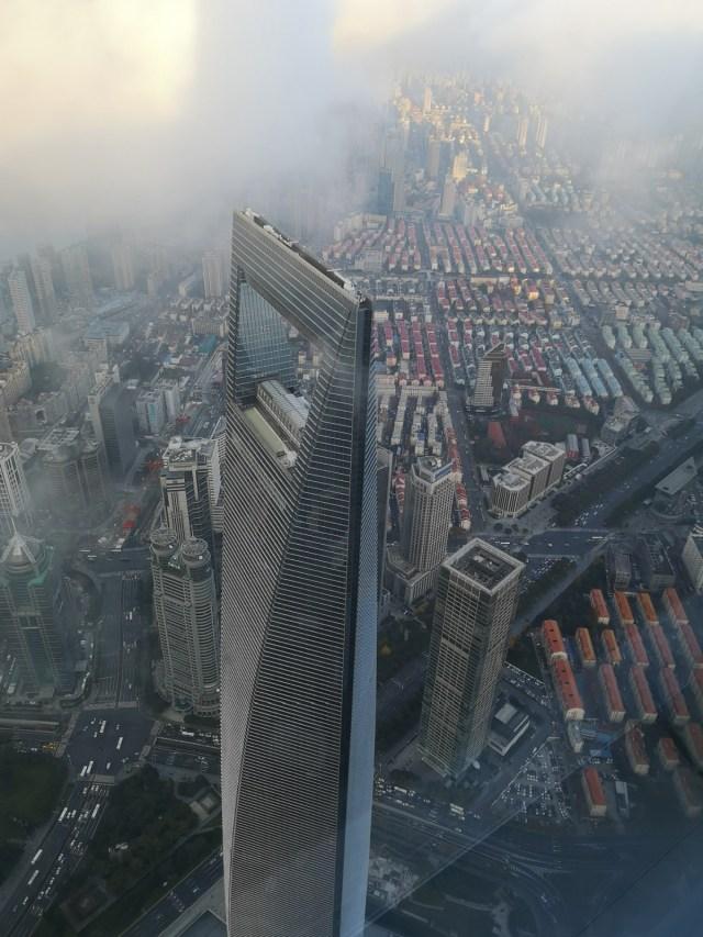 Shanghai ein Blick auf die Zukunft: World Financial Center