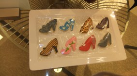Shoe-shaped cookies by Cookie Creations of Atlanta