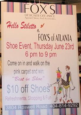 Hello Stiletto at Fox's