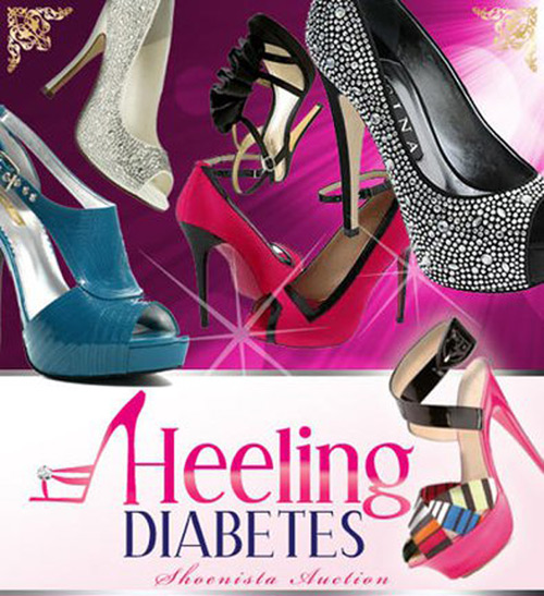Heeling Diabetes Shoenista Auction