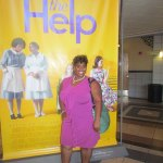 Another fab lady who joined us for The Help movie