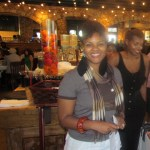 Kelly J (Kurly Kelly) founder of Natural Girls Rock, rockin her natural hair