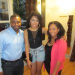 Guest Christian LaTrace Vann along with event hosts urbanSocialite and Miss Deuces from Fem-FATL