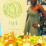 Yolanda Owens of Pampered Nail and Body Spa. LOVE the lime body oil!