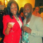 The fabulous Rosalynn Wilson of Chic Boutique Tour with party guest