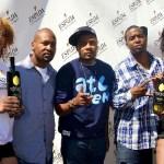 Espada Tequila Models with Shinobi Muhammad (Espada Tequila), DJ Trauma & Marion Skinner (Espada Tequila)