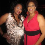 Nikka Shae with The Divine Miss Kim Coles...WooWooWoo!
