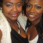 Nikka Shae with the fab Ms Kandi Burruss