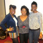 FFW Founder and CEO Tarin Boone (center) with The Two Stylish Kays