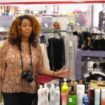 Lexi shows the ladies all the name brand beauty finds at discount prices