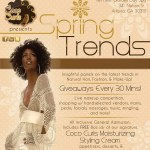 Coco Curls delivers with Spring Trends