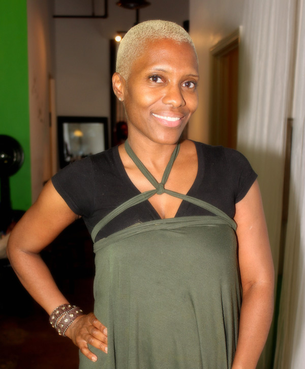 Iwi Fresh Garden Day Spa owner Yolanda Owens looks amazing!