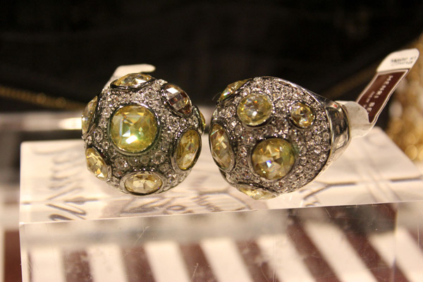 Look at these gorg Henri Bendel rings...OMG!!!