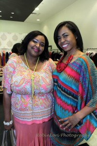 Nikka Shae with the amazing designer behind the Stone Savant collection, Danielle C. Hinton