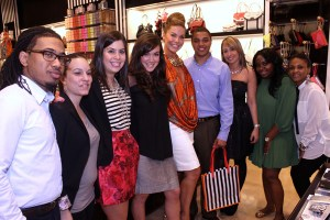 The amazing Team Bendel at Lenox Square