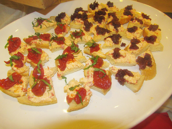 Delectable delights by Chef Courtney Renn