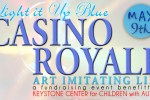 Light It Up Blue - Casino Royale at Bar One Lounge