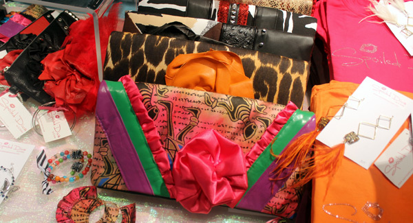 Spoil yourself rotten with one of these custom clutch bags by Spoiled Diva!