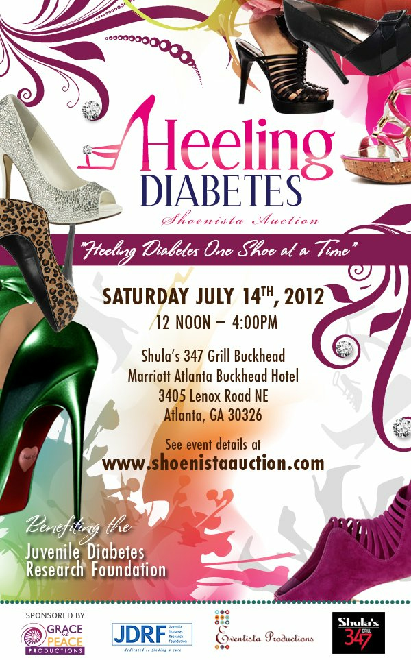 Heeling Diabetes Shoenista Auction 2012