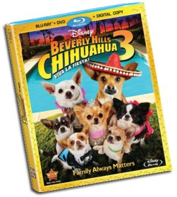 Beverly Hills Chihuahua 3 - Disney DVD