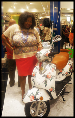 C. Wonder even carries a floral embellished scooter. Too fab!!!