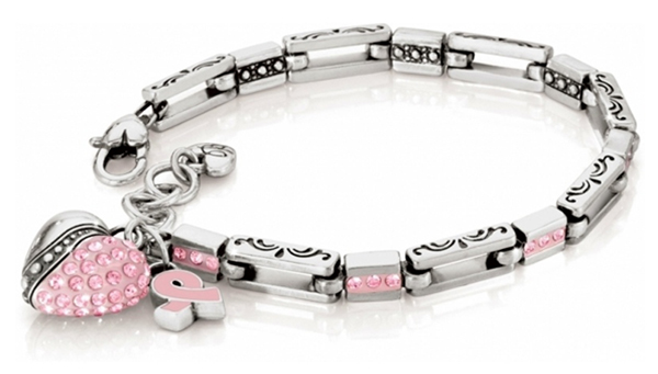 Brighton Collectibles commemorative Breast Cancer Bracelet for 2012