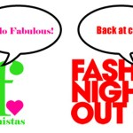 FNO OMG! Celebrating Fashion's Night Out… BFF style!