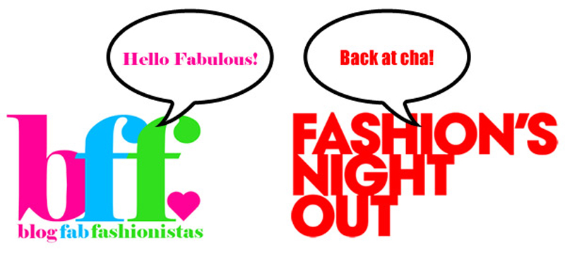 Fashion's Night Out 2012 with the Blog Fab Fashionistas