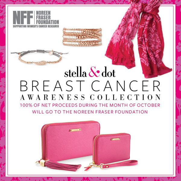Stella & Dot Breast Cancer Awareness Collection