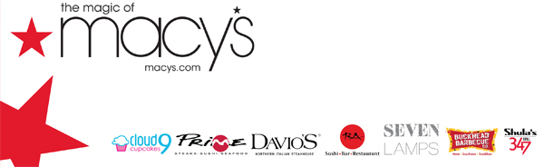 Macy's Lenox Grand Re-Opening event sponsors