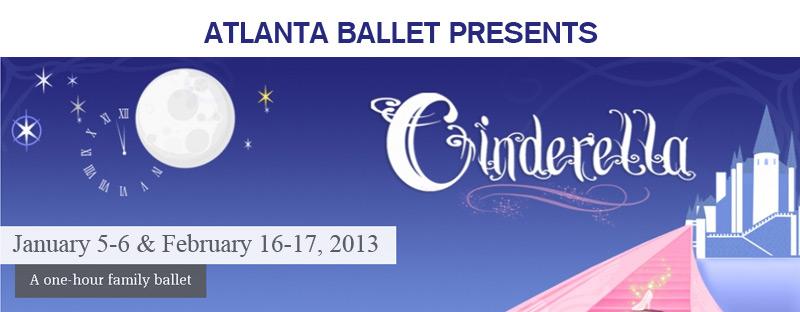 Atlanta Ballet's Cinderella