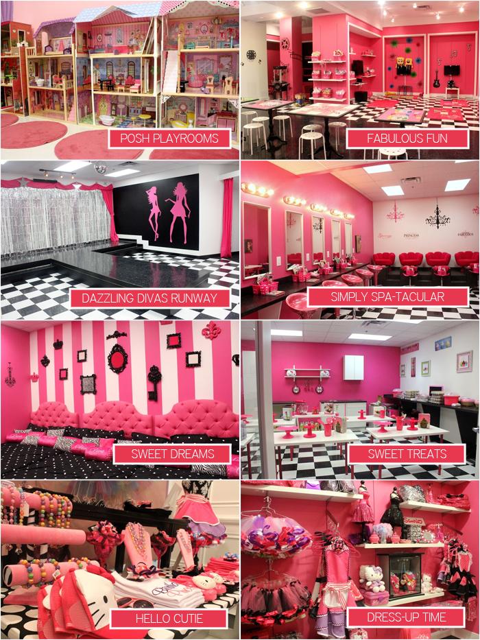 Pink Playrooms at Pink Pastry Parlor