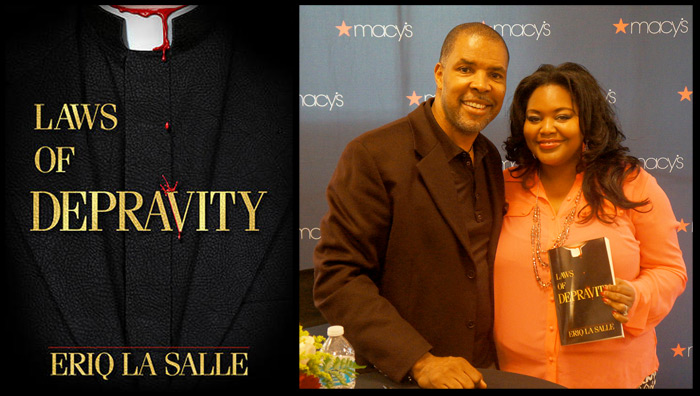 Eriq La Salle novel Laws of Depravity Nikka Shae