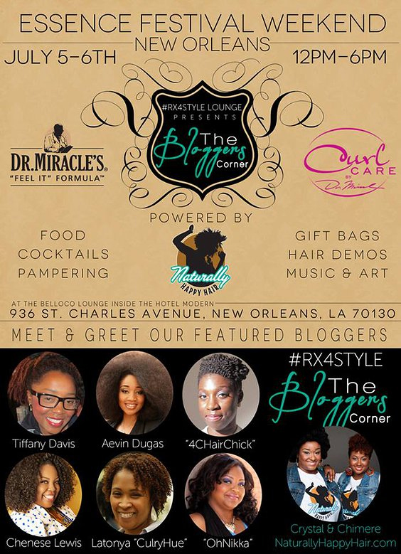 Dr. Miracles #RX4style event in New Orleans