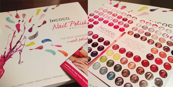 Incoco Nail Polish Appliqué Kit