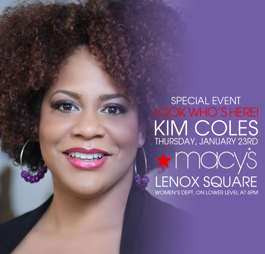 Macy's New Year New You Fashion Show with Kim Coles and Nikka Shae