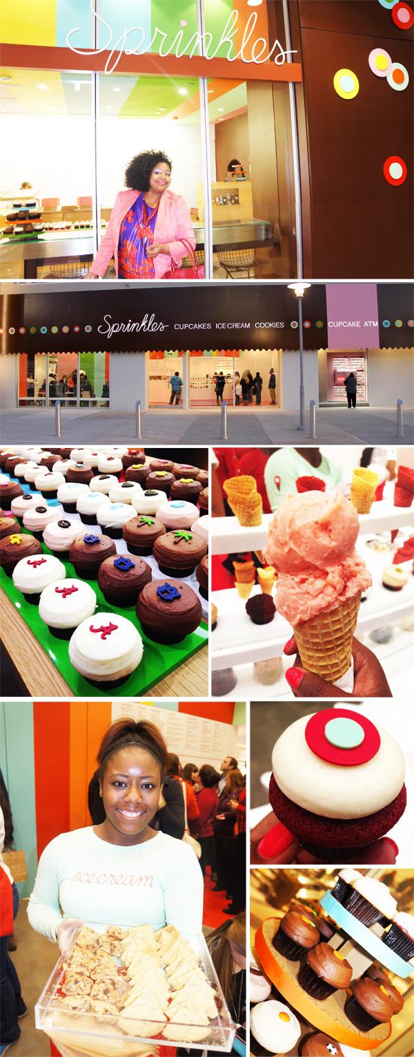 Sprinkles Cupcakes Atlanta Opening