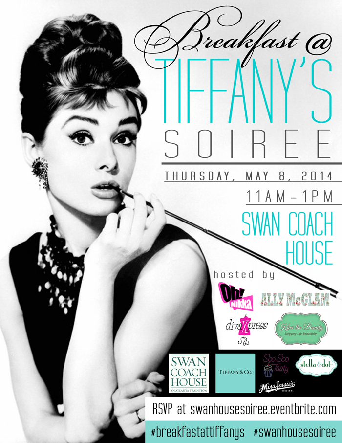 Breakfast at Tiffany's Soireee - Swan Coach House