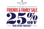 Kate Spade Friends & Family Sale - Spring 2014