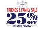 Kate Spade Friends & Family Sale - Spring 2014
