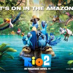 Rio 2 returns to theaters on April 11