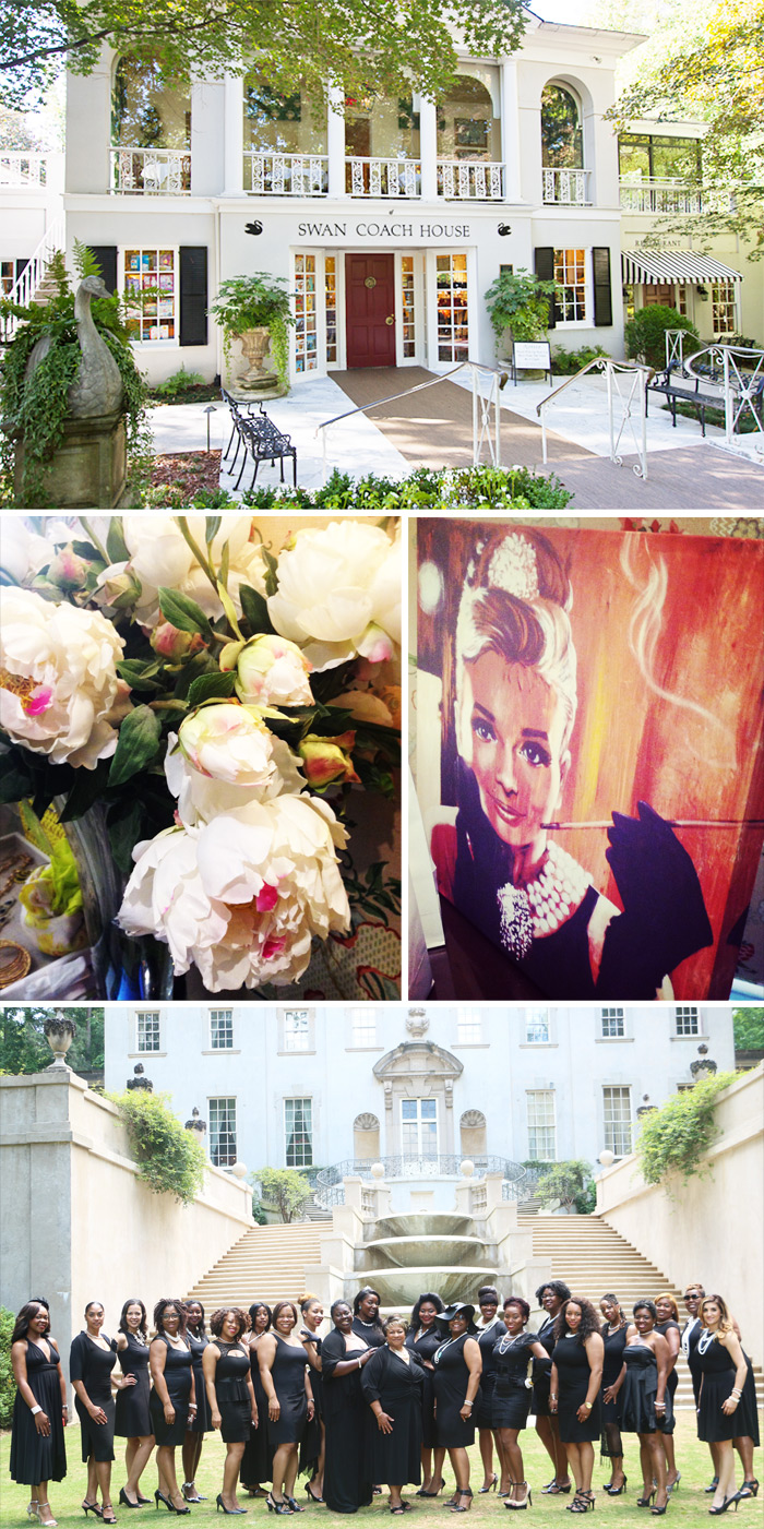 Breakfast at Tiffany's Swan House Soiree
